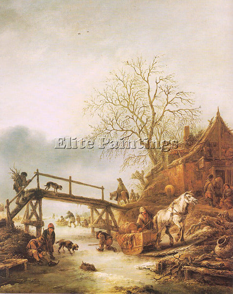 DUTCH OSTADE ISAACK JANSZ VAN DUTCH 1621 49 4 ARTIST PAINTING REPRODUCTION OIL
