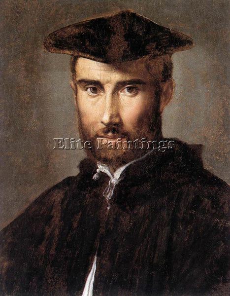 PARMIGIANINO PORTRAIT OF A MAN 1528 30 ARTIST PAINTING REPRODUCTION HANDMADE OIL