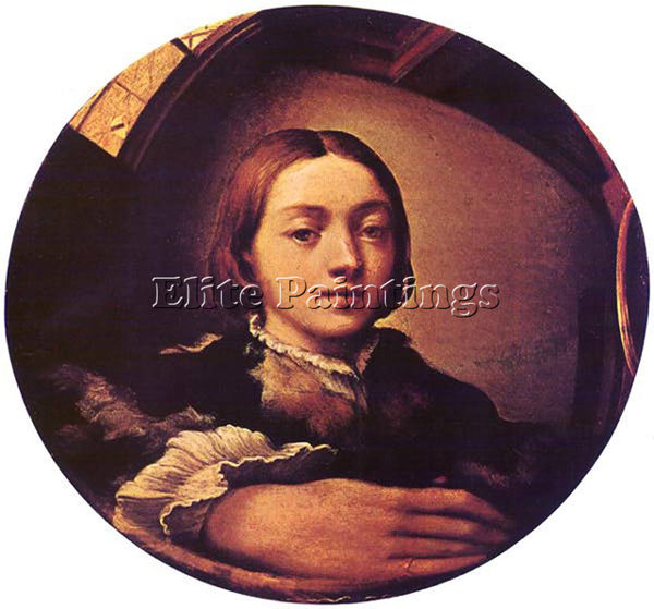 PARMIGIANINO SELF PORTRAIT IN A CONVEX MIRROR ARTIST PAINTING REPRODUCTION OIL