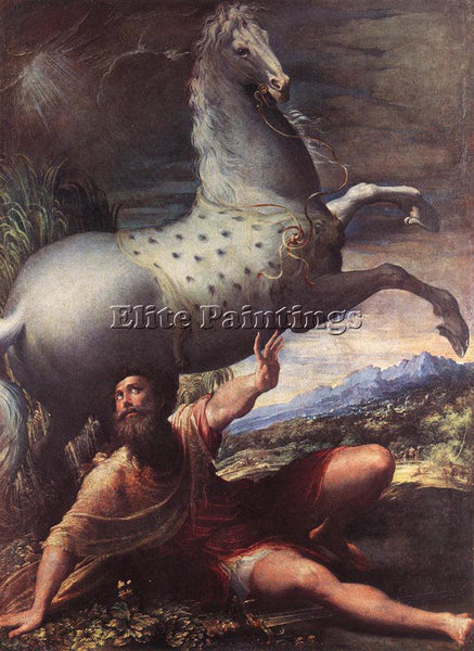 PARMIGIANINO THE CONVERSION OF ST PAUL ARTIST PAINTING REPRODUCTION HANDMADE OIL