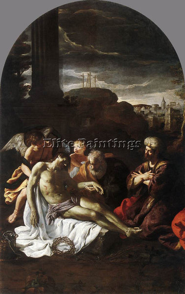 PIETRO DA CORTONA PIETA ARTIST PAINTING REPRODUCTION HANDMADE CANVAS REPRO WALL
