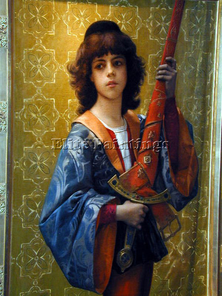 ALEXANDRE CABANEL PAIGE ARTIST PAINTING REPRODUCTION HANDMADE CANVAS REPRO WALL