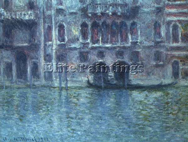 CLAUDE MONET PALAZZO DA MULA AT VENICE 1 ARTIST PAINTING REPRODUCTION HANDMADE