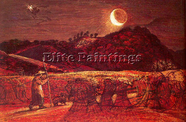 BRITISH PALMER SAMUEL ENGLISH 1805 1881 ARTIST PAINTING REPRODUCTION HANDMADE