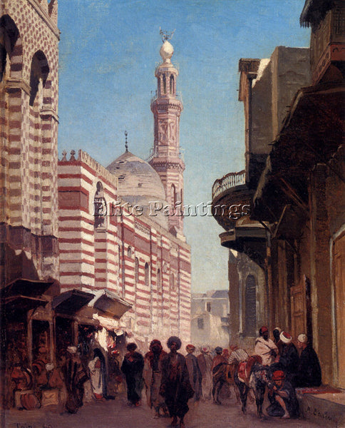ALBERTO PASINI CAIRO ARTIST PAINTING REPRODUCTION HANDMADE OIL CANVAS REPRO WALL