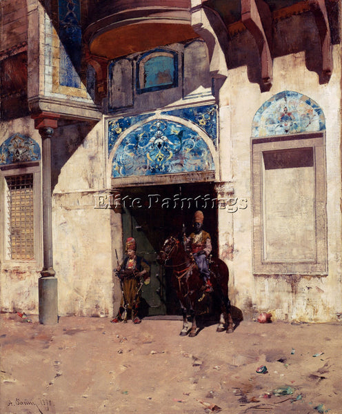 ALBERTO PASINI THE PALACE G ARTIST PAINTING REPRODUCTION HANDMADE OIL CANVAS ART