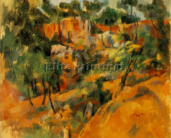 PAUL CEZANNE CEZA59 ARTIST PAINTING REPRODUCTION HANDMADE CANVAS REPRO WALL DECO