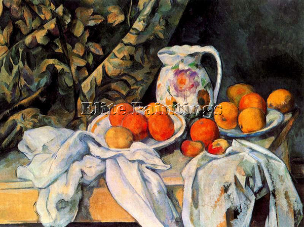 PAUL CEZANNE CEZA33 ARTIST PAINTING REPRODUCTION HANDMADE CANVAS REPRO WALL DECO