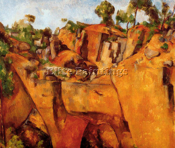 PAUL CEZANNE CEZA32 ARTIST PAINTING REPRODUCTION HANDMADE CANVAS REPRO WALL DECO