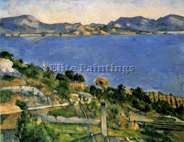 PAUL CEZANNE CEZA34 ARTIST PAINTING REPRODUCTION HANDMADE CANVAS REPRO WALL DECO