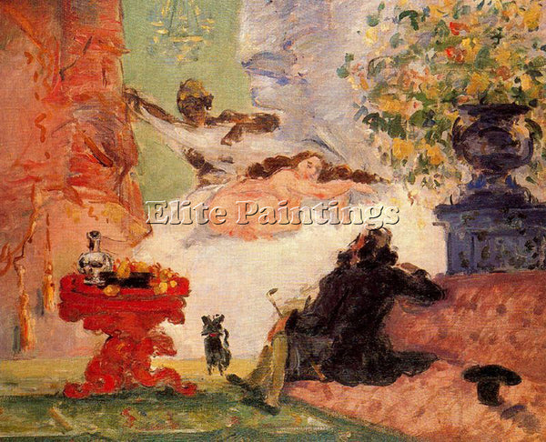 PAUL CEZANNE CEZA39 ARTIST PAINTING REPRODUCTION HANDMADE CANVAS REPRO WALL DECO