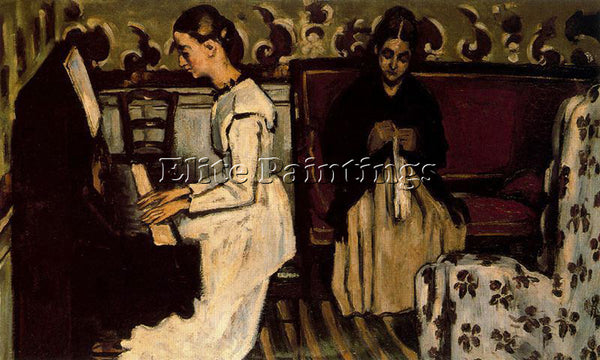 PAUL CEZANNE CEZA42 ARTIST PAINTING REPRODUCTION HANDMADE CANVAS REPRO WALL DECO