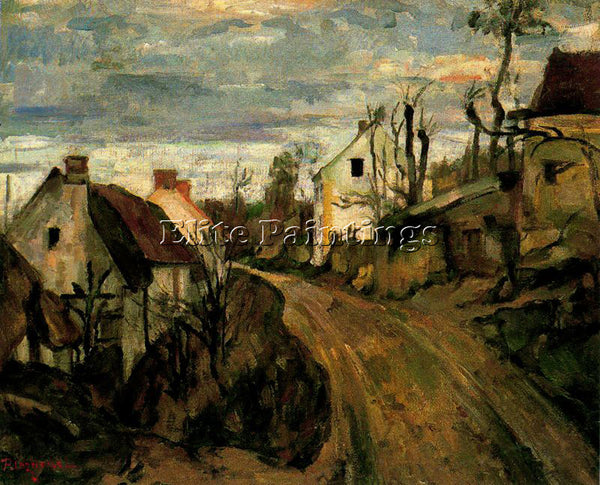 PAUL CEZANNE CEZA45 ARTIST PAINTING REPRODUCTION HANDMADE CANVAS REPRO WALL DECO