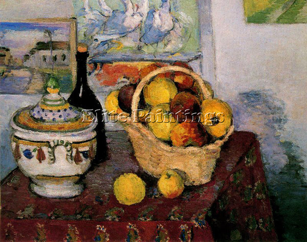 PAUL CEZANNE CEZA50 ARTIST PAINTING REPRODUCTION HANDMADE CANVAS REPRO WALL DECO