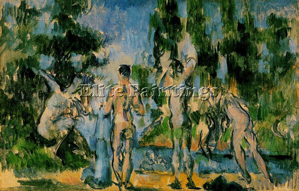 PAUL CEZANNE CEZA48 ARTIST PAINTING REPRODUCTION HANDMADE CANVAS REPRO WALL DECO