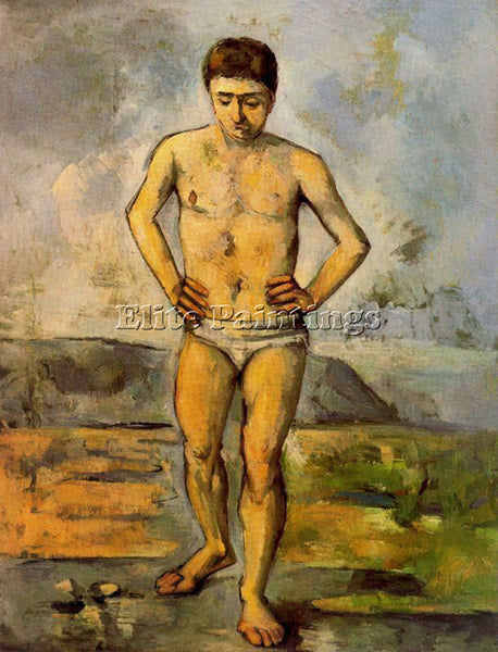 PAUL CEZANNE CEZA51 ARTIST PAINTING REPRODUCTION HANDMADE CANVAS REPRO WALL DECO