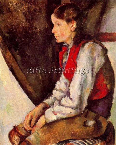 PAUL CEZANNE CEZA53 ARTIST PAINTING REPRODUCTION HANDMADE CANVAS REPRO WALL DECO
