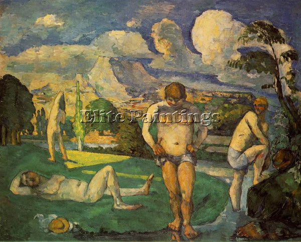 PAUL CEZANNE CEZA54 ARTIST PAINTING REPRODUCTION HANDMADE CANVAS REPRO WALL DECO