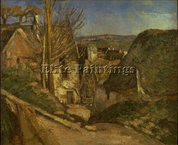 PAUL CEZANNE CEZA61 ARTIST PAINTING REPRODUCTION HANDMADE CANVAS REPRO WALL DECO