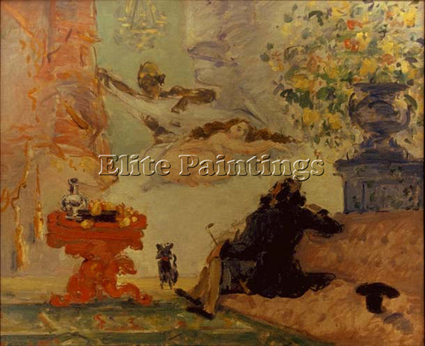 PAUL CEZANNE CEZA62 ARTIST PAINTING REPRODUCTION HANDMADE CANVAS REPRO WALL DECO