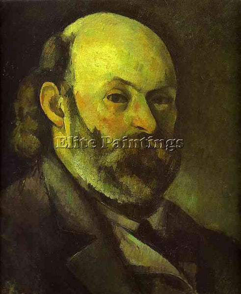 PAUL CEZANNE  SELF PORTRAIT ARTIST PAINTING REPRODUCTION HANDMADE OIL CANVAS ART