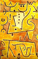 PAUL KLEE KLEE16 ARTIST PAINTING REPRODUCTION HANDMADE OIL CANVAS REPRO WALL ART