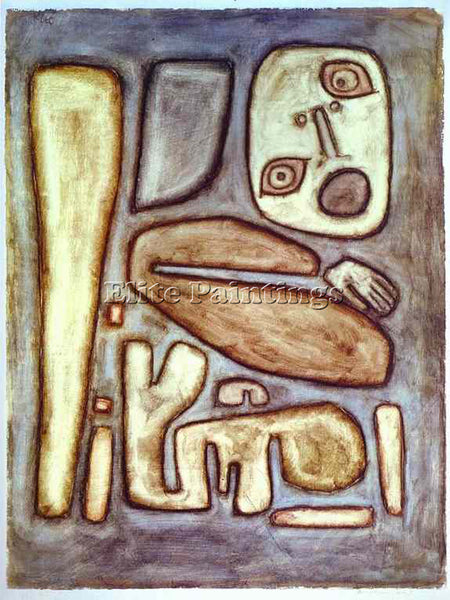 PAUL KLEE KLEE17 ARTIST PAINTING REPRODUCTION HANDMADE OIL CANVAS REPRO WALL ART