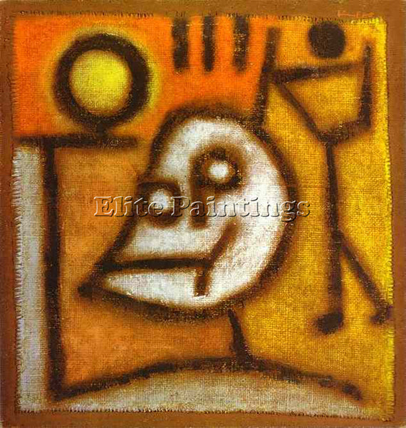 PAUL KLEE KLEE20 ARTIST PAINTING REPRODUCTION HANDMADE OIL CANVAS REPRO WALL ART