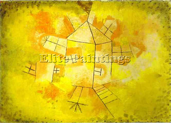 PAUL KLEE KLEE21 ARTIST PAINTING REPRODUCTION HANDMADE OIL CANVAS REPRO WALL ART