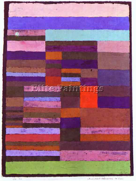 PAUL KLEE KLEE23 ARTIST PAINTING REPRODUCTION HANDMADE OIL CANVAS REPRO WALL ART