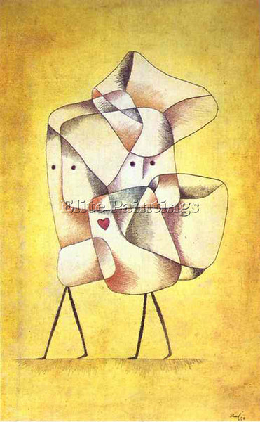 PAUL KLEE KLEE24 ARTIST PAINTING REPRODUCTION HANDMADE OIL CANVAS REPRO WALL ART