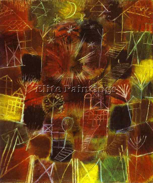 PAUL KLEE KLEE25 ARTIST PAINTING REPRODUCTION HANDMADE OIL CANVAS REPRO WALL ART