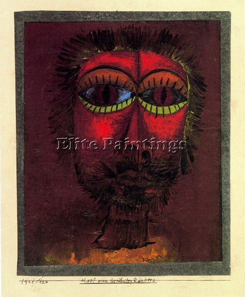 PAUL KLEE KLEE48 ARTIST PAINTING REPRODUCTION HANDMADE OIL CANVAS REPRO WALL ART