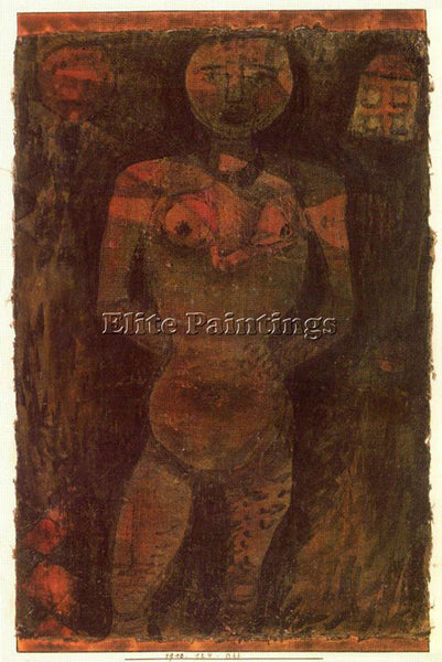 PAUL KLEE KLEE32 ARTIST PAINTING REPRODUCTION HANDMADE OIL CANVAS REPRO WALL ART