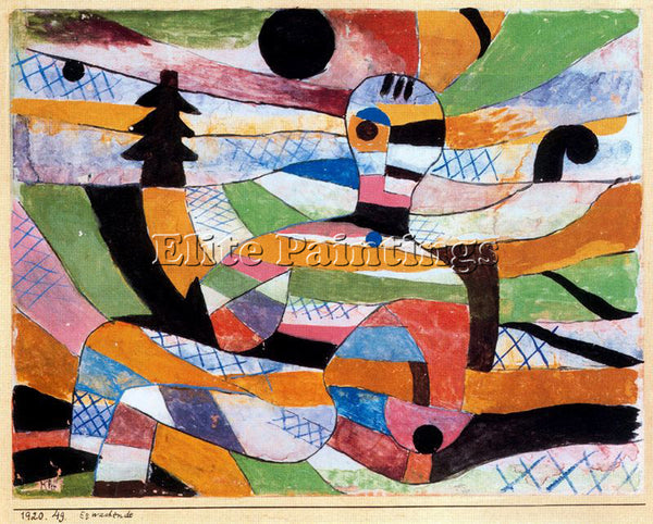 PAUL KLEE KLEE33 ARTIST PAINTING REPRODUCTION HANDMADE OIL CANVAS REPRO WALL ART