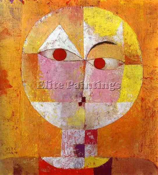 PAUL KLEE KLEE52 ARTIST PAINTING REPRODUCTION HANDMADE OIL CANVAS REPRO WALL ART