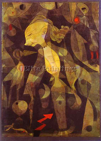 PAUL KLEE KLEE54 ARTIST PAINTING REPRODUCTION HANDMADE OIL CANVAS REPRO WALL ART