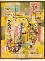 PAUL KLEE KLEE57 ARTIST PAINTING REPRODUCTION HANDMADE OIL CANVAS REPRO WALL ART