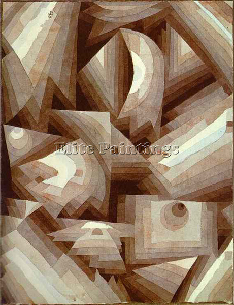 PAUL KLEE KLEE58 ARTIST PAINTING REPRODUCTION HANDMADE OIL CANVAS REPRO WALL ART