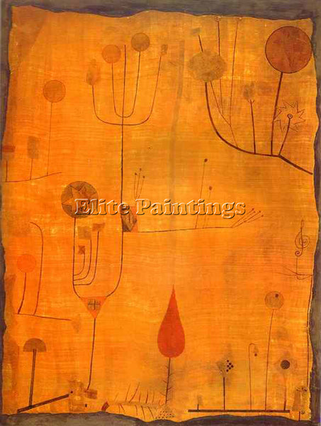 PAUL KLEE KLEE60 ARTIST PAINTING REPRODUCTION HANDMADE OIL CANVAS REPRO WALL ART