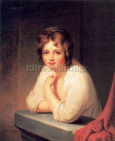 AMERICAN PEALE REMBRANDT AMERICAN 1778 1860 4 ARTIST PAINTING REPRODUCTION OIL