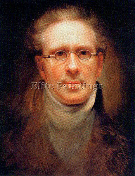 AMERICAN PEALE REMBRANDT AMERICAN 1778 1860 6 ARTIST PAINTING REPRODUCTION OIL