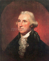AMERICAN PEALE REMBRANDT AMERICAN 1778 1860 ARTIST PAINTING HANDMADE OIL CANVAS