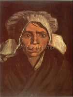 VAN GOGH PEASANT WOMAN ARTIST PAINTING REPRODUCTION HANDMADE CANVAS REPRO WALL