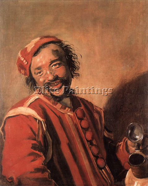 FRANS HALS PEECKELHAERING ARTIST PAINTING REPRODUCTION HANDMADE OIL CANVAS REPRO