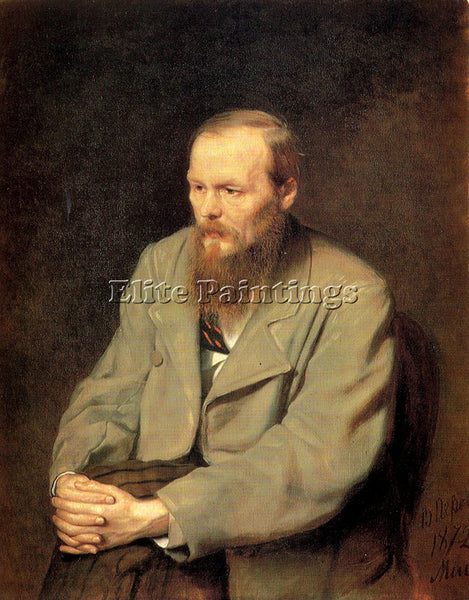 RUSSIAN PEROV VASILY RUSSIAN 1834 1882 1 ARTIST PAINTING REPRODUCTION HANDMADE