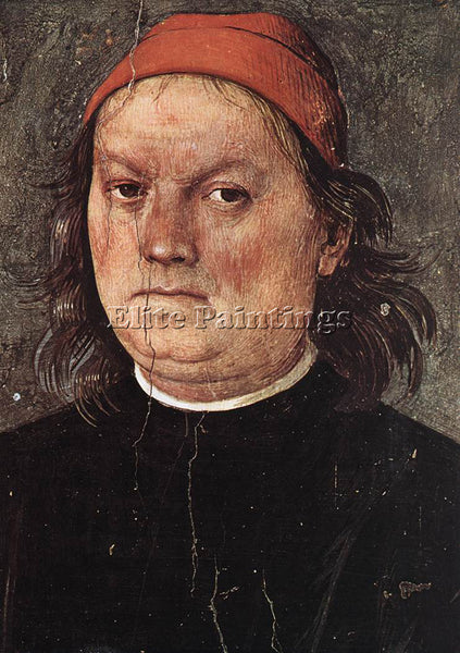 PIETRO PERUGINO SELF PORTRAIT C150 ARTIST PAINTING REPRODUCTION HANDMADE OIL ART