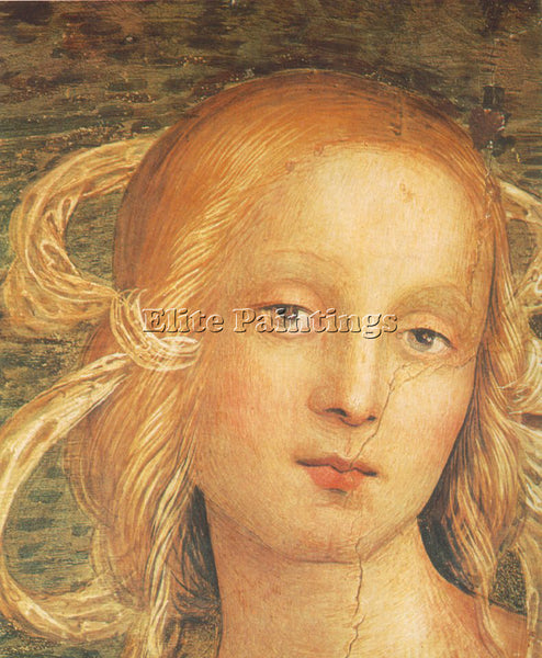 PIETRO PERUGINO THE ALMIGHTY WITH PROPHETS AND SYBILS 1500 DETAIL1 REPRODUCTION