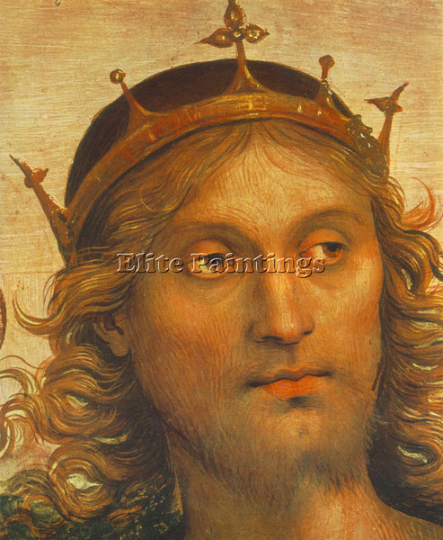 PIETRO PERUGINO THE ALMIGHTY WITH PROPHETS AND SYBILS 1500 DETAIL2 REPRODUCTION