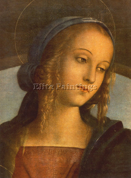 PIETRO PERUGINO THE MADONNA BETWEEN ST JOHN BAPTIST AND ST SEBASTIAN 1 PAINTING